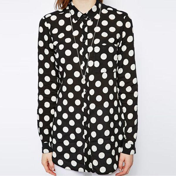 Prikkete skjorte | FINN.no